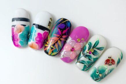 tip con nail art